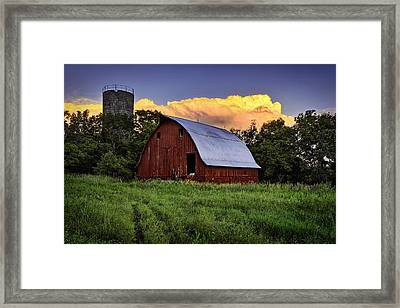 Rustic Glory Framed Print by Thomas Zimmerman