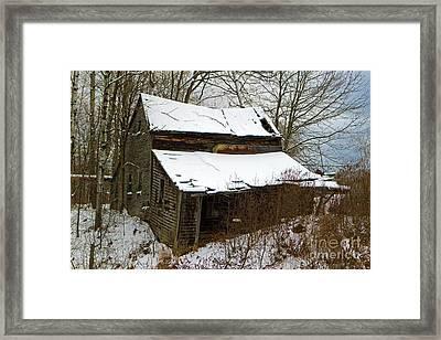 Rustic Home Framed Print by Lloyd Alexander