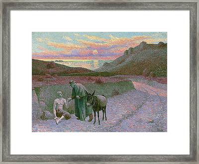 Rustic IIl Luce Framed Print by David Bridburg