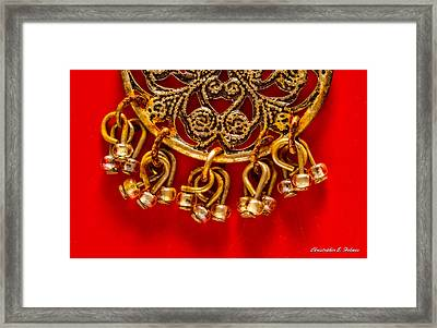 Rustic Jewelry Framed Print by Christopher Holmes