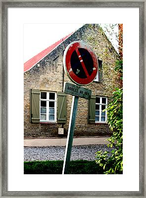 Rustic Framed Print by Jez C Self