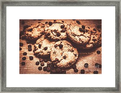 Rustic Kitchen Cookie Art Framed Print by Jorgo Photography - Wall Art Gallery