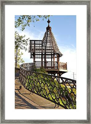 Rustic Memorial Framed Print by Andrew Dinh