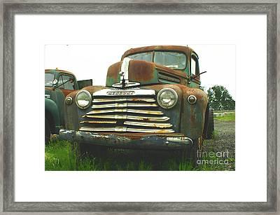 Rustic Mercury Framed Print by Randy Harris