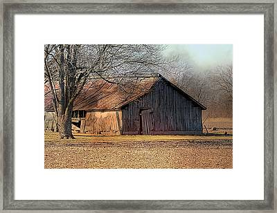 Rustic Midwest Barn Framed Print