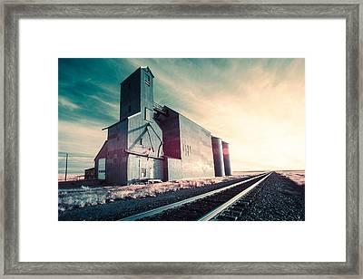 Rustic Monolith Framed Print by Todd Klassy