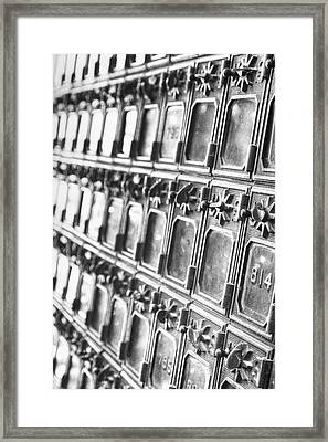 Rustic Post Office Framed Print by Paul Huchton