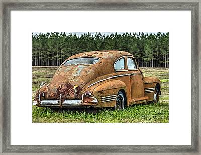Rustic Relic Framed Print by Rick Mann