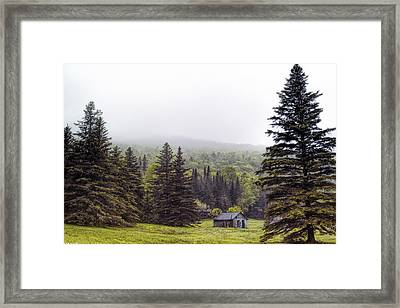 Rustic Remnant Framed Print by Richard Bean