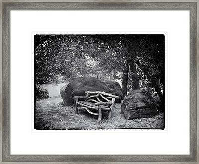 Rustic Retreat Framed Print by Jessica Jenney