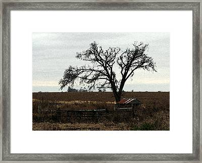 Rustic Framed Print by Rodger Mansfield