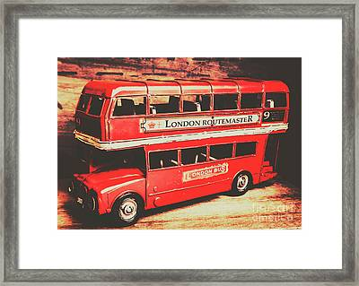 Rustic Routemaster Framed Print