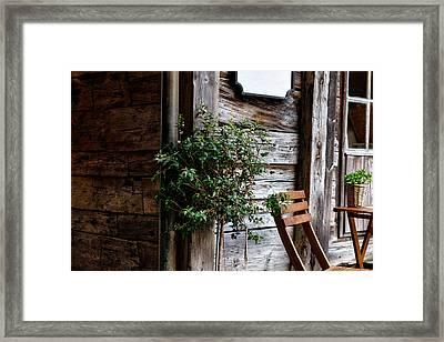 Rustic Solitude Framed Print by Jorgen Haland