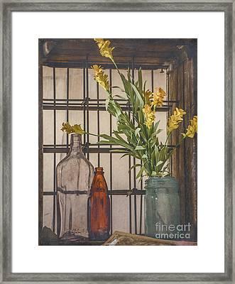 Rustic Still Life 2 Framed Print by Teresa Wilson