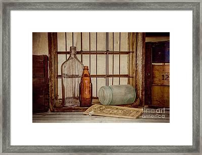 Rustic Still Life 3 Framed Print by Teresa Wilson