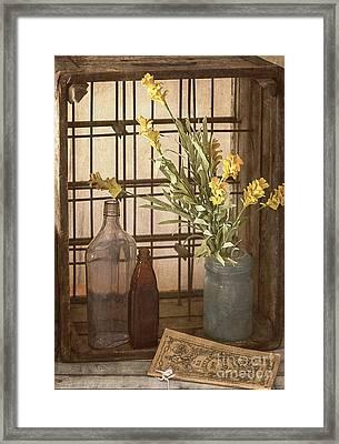 Rustic Still Life 4 Framed Print by Teresa Wilson