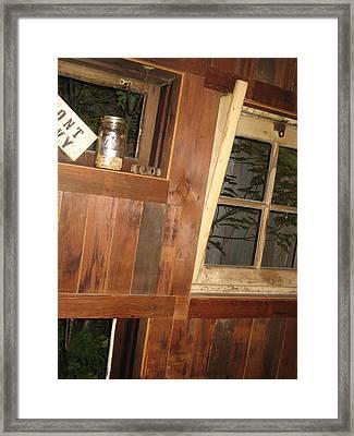 Rustic Times Framed Print by Sheryl Burns