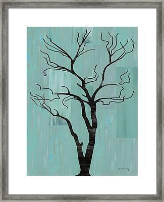Rustic Tree Art Framed Print