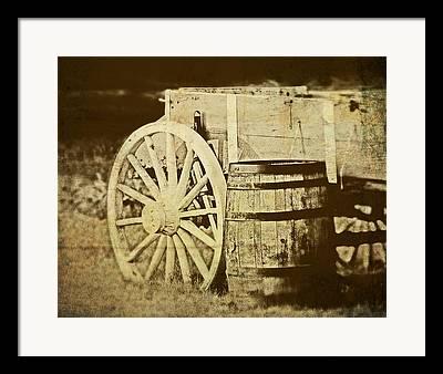 Horsedrawn Framed Prints