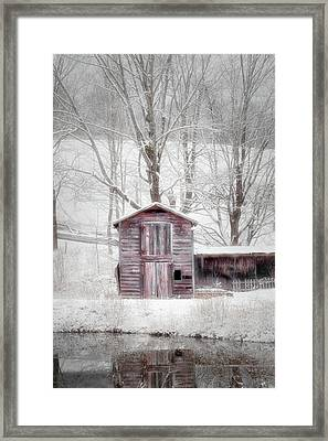 Rustic Winter 2016 Framed Print by Bill Wakeley