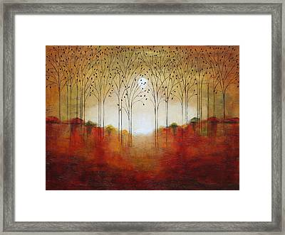Rustic Woods Framed Print