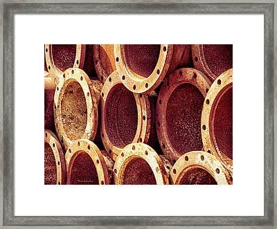 Rusties Framed Print