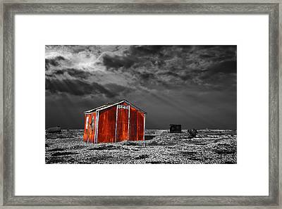 Rusting Away Framed Print