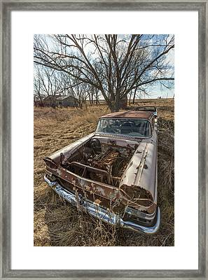 Rusty Framed Print by Aaron J Groen