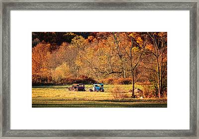 Framed Print featuring the photograph Rusty And Oldie by Eduard Moldoveanu