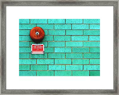 Rusty Bell Framed Print