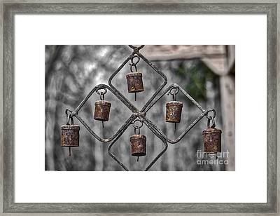 Rusty Bells Framed Print