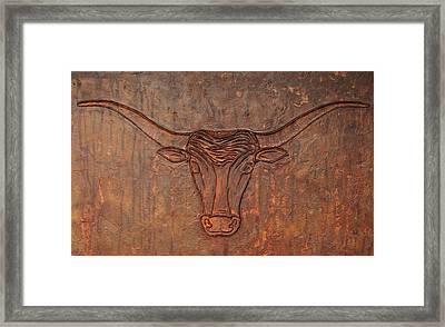 Rusty Bevo Framed Print