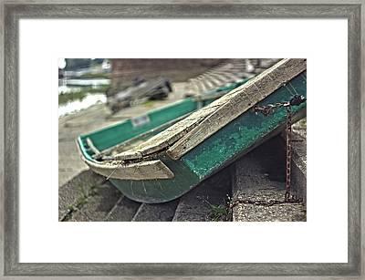 Rusty Boat Framed Print