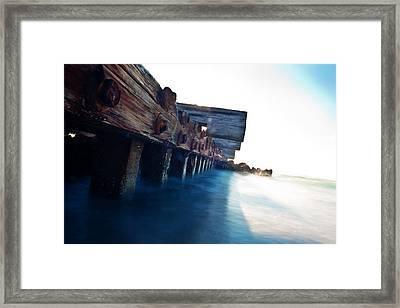 Rusty But Not Broken Framed Print