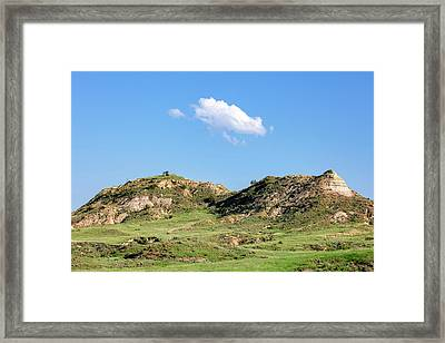 Rusty Buttes Framed Print by Todd Klassy