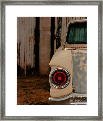 Rusty Car Framed Print