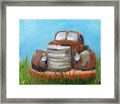 Rusty Framed Print by Cari Humphry