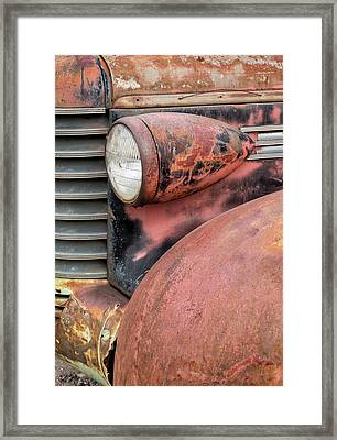 Rusty Classic Framed Print