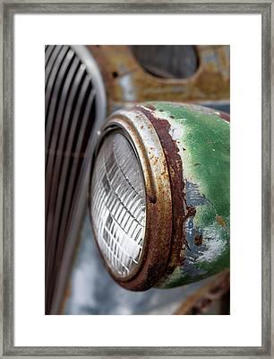 Rusty Detail Framed Print