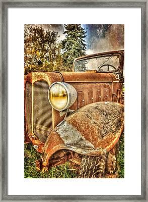 Rusty Dude Framed Print