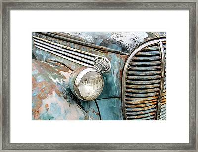 Rusty Ford 85 Truck Framed Print