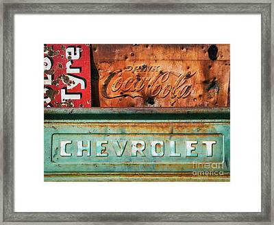 Rusty Gold Framed Print by Tim Gainey