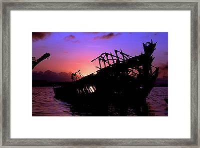 Rusty Hulk Framed Print by Mike Flynn