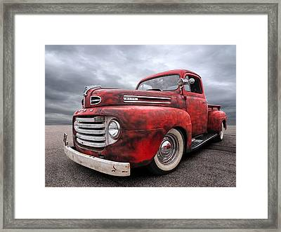 Rusty Jewel - 1948 Ford Framed Print