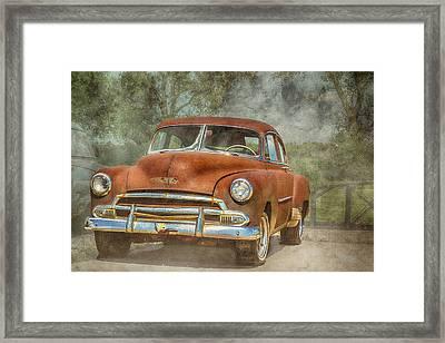 Rusty Framed Print by Pamela Williams