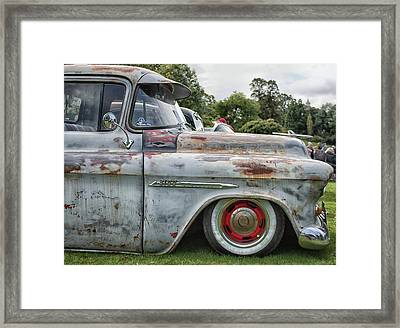 Rusty Pick Up Framed Print