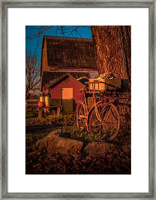Rusty Ride Framed Print