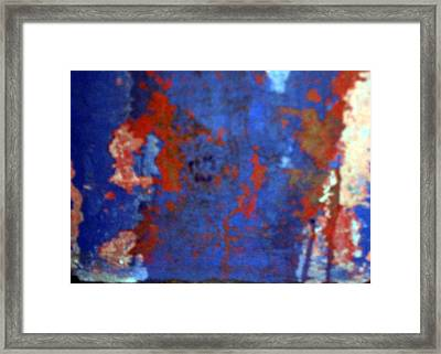Framed Print featuring the photograph Rusty Thing by Lola Connelly
