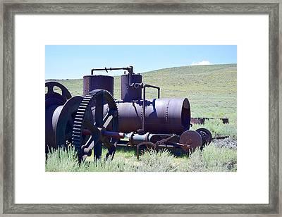 Rusty Wench Framed Print