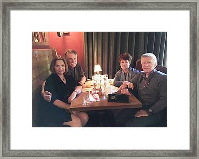 Ruth And Tom Framed Print